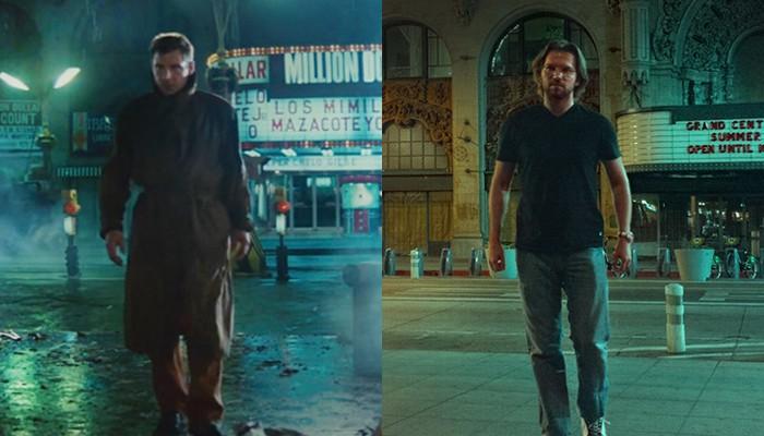 Grishayev recriando cena de 'Blade Runner' (Foto: Reprodução/Instagram)