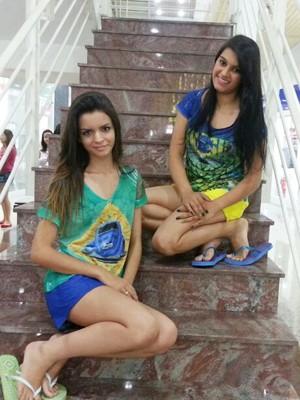 ed8ad562b G1 - Cores da bandeira do Brasil inspiram moda para a Copa em ...