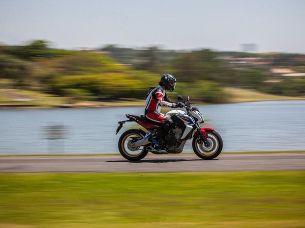 Honda CB 650F (Foto: Victor Moriyama / G1)
