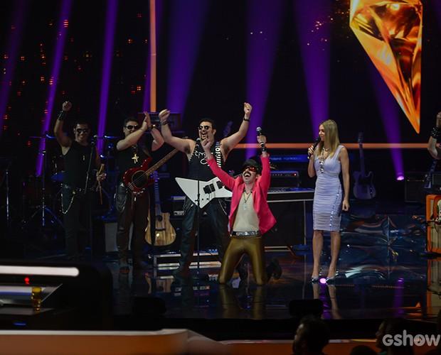 Tarcísio Meira's Band 3 (Foto: Camila Serejo / TV Globo)
