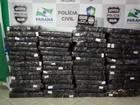 Polícia apreende mais de 1 tonelada de maconha em Vera Cruz do Oeste