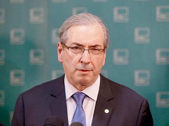 O presidente da Câmara, Eduardo Cunha (PMDB-RJ) (Foto: Pedro Ladeira/Folhapress)