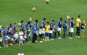 Cruzeiro divulga regras para entrada de crianças em jogos no Mineirão