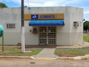 Duas agências dos Correios foram arrombadas na última quarta-feira (11), no Tocantins (Foto: Divulgação)