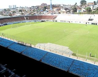 estádio Centenário do Caxias (Foto: Cahê Mota / GLOBOESPORTE.COM)
