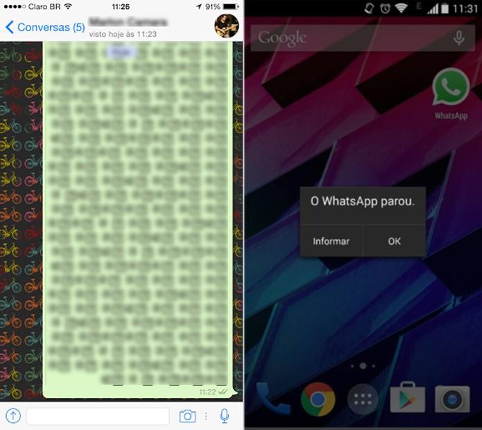 WhatsApp tem falha que possibilita travar o app no Android com uma mensagem (Foto: Marlon Câmara/TechTudo)