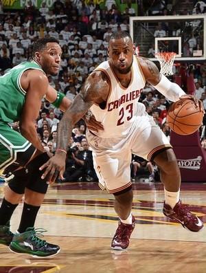 Cleveland Cavaliers x Boston Celtics, NBA, basquete, LeBron James (Foto: NBA/Divulgação)