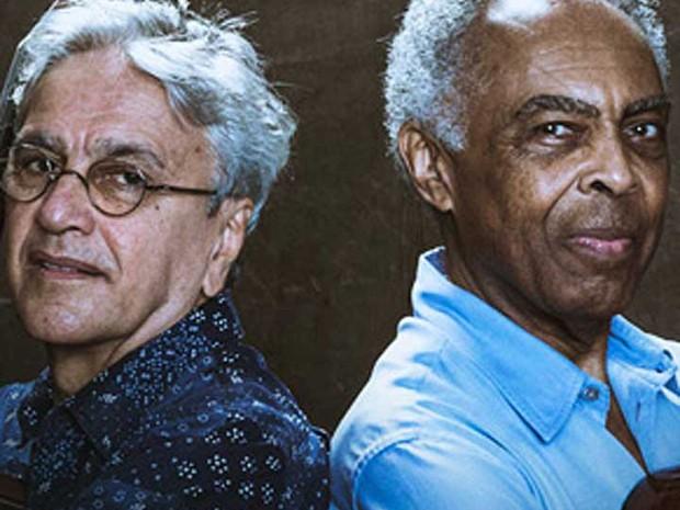 Caetano Veloso e gilberto Gil (Foto: Reprodução / site SFJAZZ)