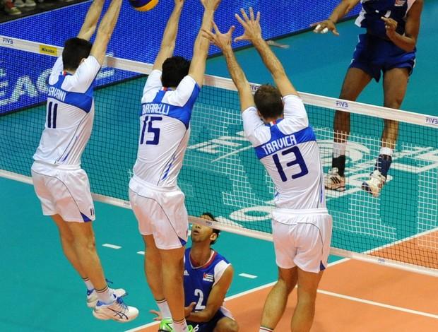 Itália vence Cuba por 3 a 0 pela Liga Mundial (Foto: Divulgação/FIVB)
