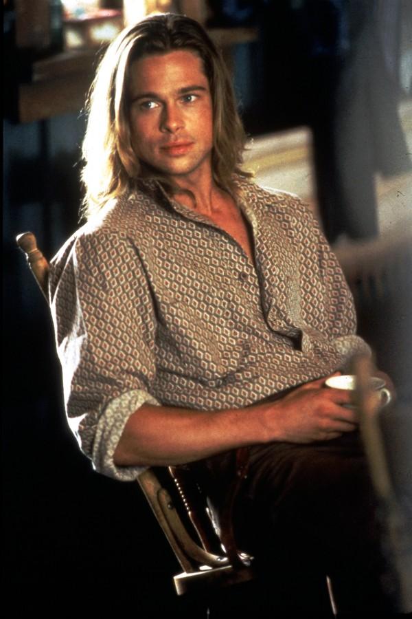Brad Pitt nos anos 1990 (Foto: Getty Images)