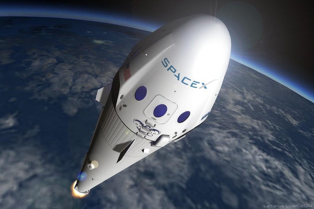 O Falcon Heavy da Spacex, o poguete mais potente já feito (Foto: Divulgação)