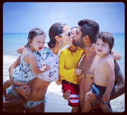 Luana Piovani e família (Foto: Reprodução Instagram)