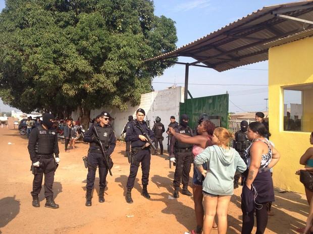 Briga entre facções motivou conflito na penitenciária Urso Branco que resultou em oito mortes (Foto: Hosana Morais/G1)