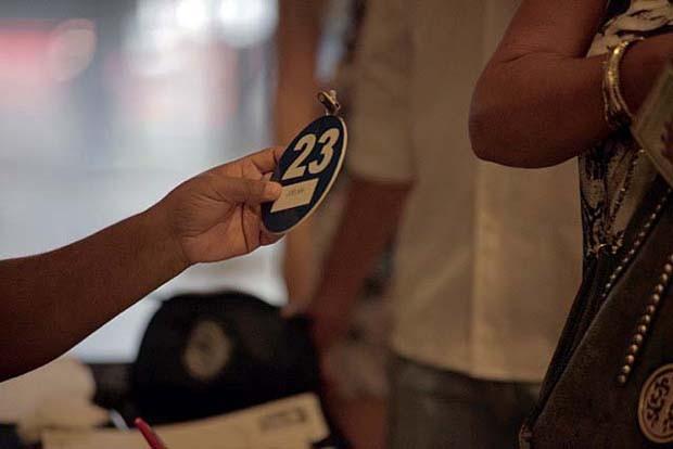Candidatos recebem suas numerações  (Foto: Gshow)