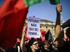 Portugal tem protestos contra cortes
