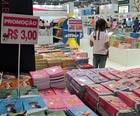Bienal tem livro que vai de R$ 2  a até R$ 4 mil (Giovana Sanchez/G1)