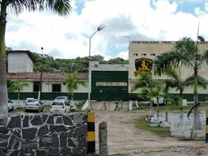 Penitenciária Barreto Campelo, em Itamaracá, PE (Foto: Katherine Coutinho / G1)