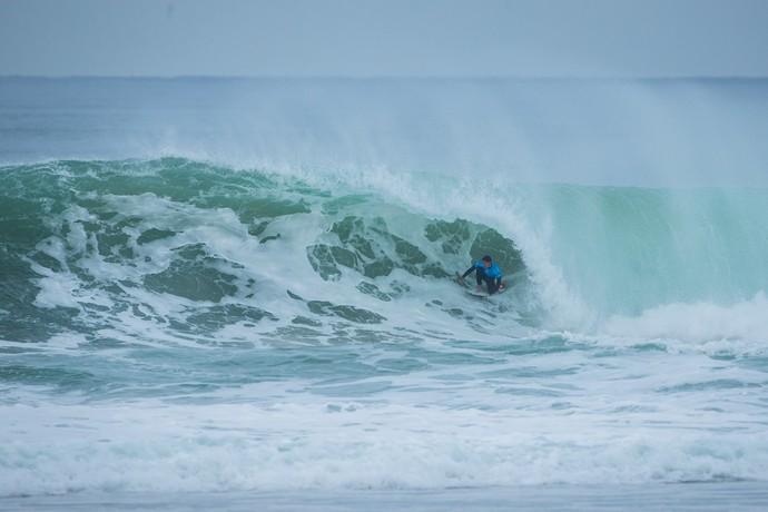 Gabriel Medina em ação na etapa de Hossegor do Circuito Mundial de Surfe (Foto: Divulgação)
