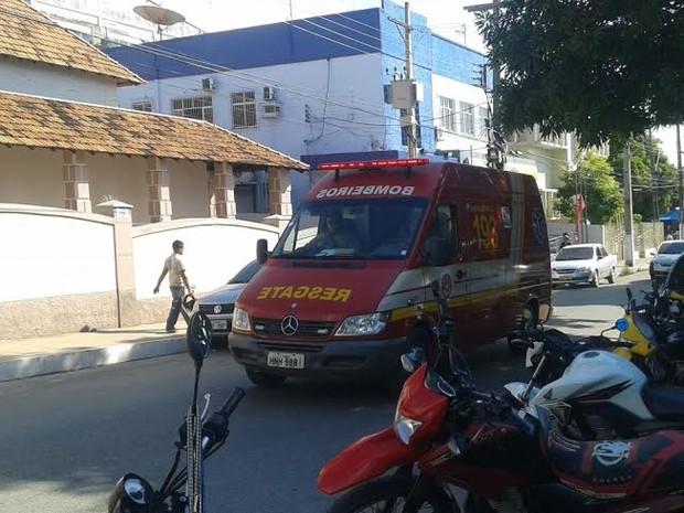 home eletrocutado em santarém  (Foto: Bena Santana/G1)