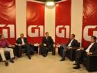 Candidatos à Prefeitura de Aparecida de Goiânia chegam para debate do G1