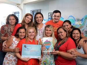 Escola Municipal Francisco Bríglia venceu a 7ª Edição do Prêmio  Professores do Brasil (Foto: Jackson Souza/Ascom Prefeitura)