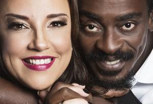 Ana e Jorge se reúnem após 11 anos para reeditar parceria de grande sucesso (Foto: Leonardo Aversa/Divulgação)