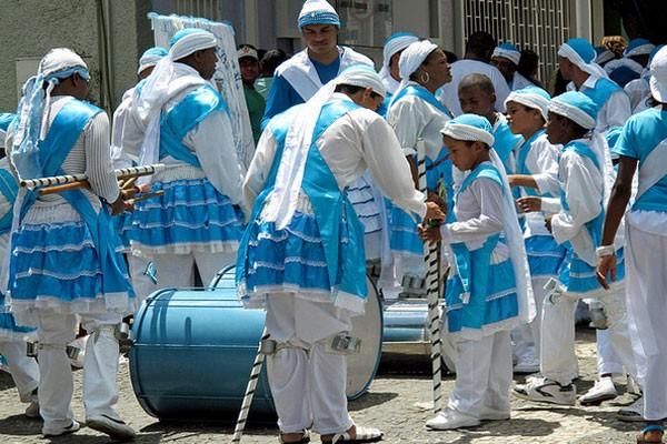 Festa reúne 24 ternos em Uberlândia (Foto: Luiz Felipe Sahd)