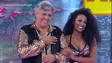 Jurados elogiam a performance de Sidney Magal no zouk