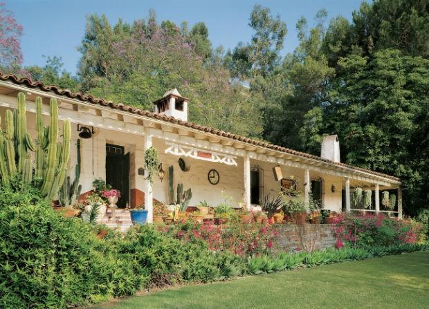 Conheça a casa de Carrie Fisher (Foto: Reprodução)