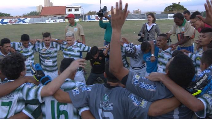 Sport Campina vence primeira partida na carreira (Foto: Reprodução /TV Paraíba)
