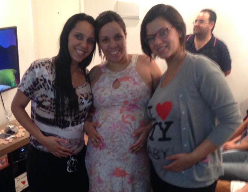 Bruna, Carolina e Patricia (Foto: Reprodução Facebook)