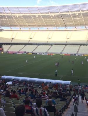 Tiradentes x Fortaleza Campeonato Cearense Arena Castelão (Foto: Grazielle Gomes/Arquivo Pessoal)