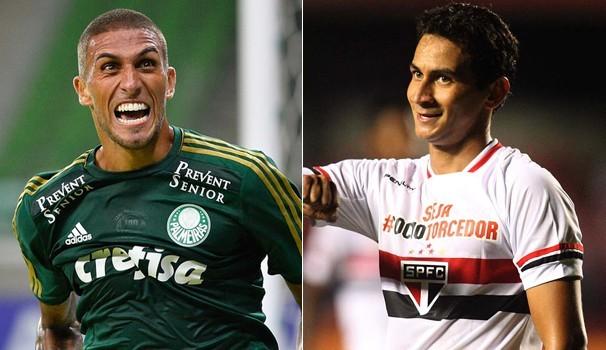 Wellington Paulista e Paulo Henrique Ganso se enfrentam na quarta-feira (Foto: Divulgação)