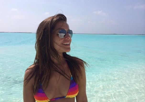 Thais Fersoza nas Maldivas (Foto: Instagram/Reprodução)