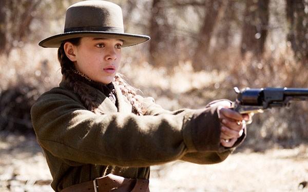 Hailee Steinfeld em 'Bravura Indômita' (2010) (Foto: Divulgação)