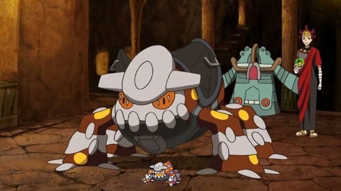 Heatran é um pokémon lendário deixado um pouco de lado em Pokémon Diamond & Pearl (Foto: Reprodução/Rafael Monteiro)