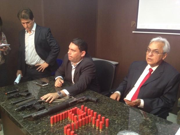 Secretário de Segurança do Piauí, Luís Carlos Martins Alves (Foto: Daniel Cunha/G1)
