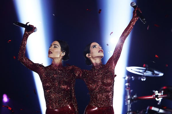As irmãs da dupla The Veronicas (Foto: Getty Images)