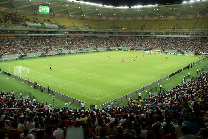 Arena da Amazônia, Manaus (Foto: Isabella Pina)