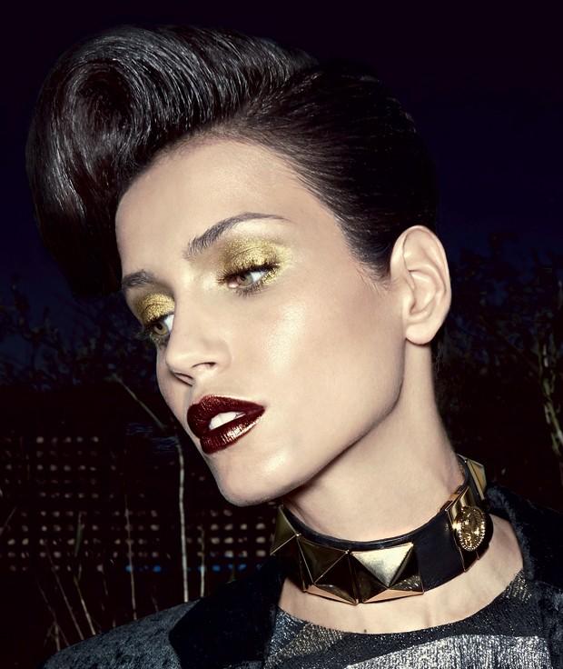 metalico beleza dourado (Foto: Henrique Gendre / Arquivo Vogue)