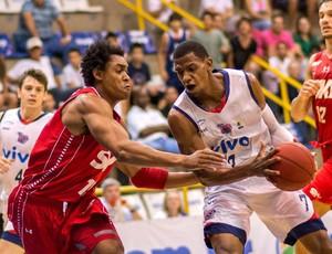 franca x pinheiros nbb basquete (Foto: Newton Nogueira/Divulgação Franca)