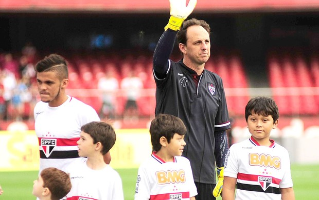 Rogério Ceni São Paulo X Figueirense (Foto: Marcos Ribolli)