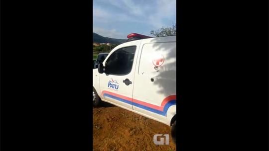 À bala, bandidos param ambulância e executam idoso no RN; neta é ferida