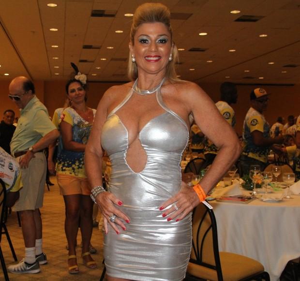 Cida Moraes  (Foto: Graça Paes/Photo Rio News)
