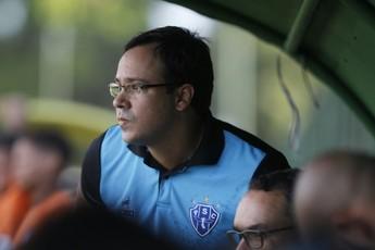 Dado Cavalcanti treinador do Paysandu (Foto: Akira Onuma/O Liberal)