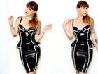 Lingerie de látex, roupas de brechó: Bianca Jahara abre o guarda-roupa
