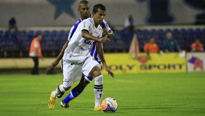 Didira, meia do ASA (Foto: Ailton Cruz/ Gazeta de Alagoas)