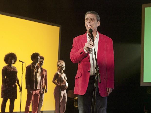 Chico Buarque em 'Chico: Artista Brasileiro' (Foto: Divulgação)