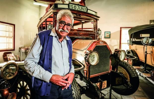 Perfil: Og Pozzoli, o colecionador de 170 carros antigos (Foto: Leo Cavallini)