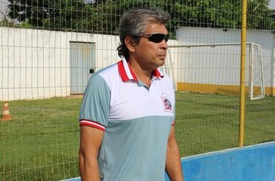 Técnico Ney Magalhães, do Guaicurus (Foto: Hélder Rafael)